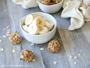 Recipe: Banana Cinnamon Oat Balls
