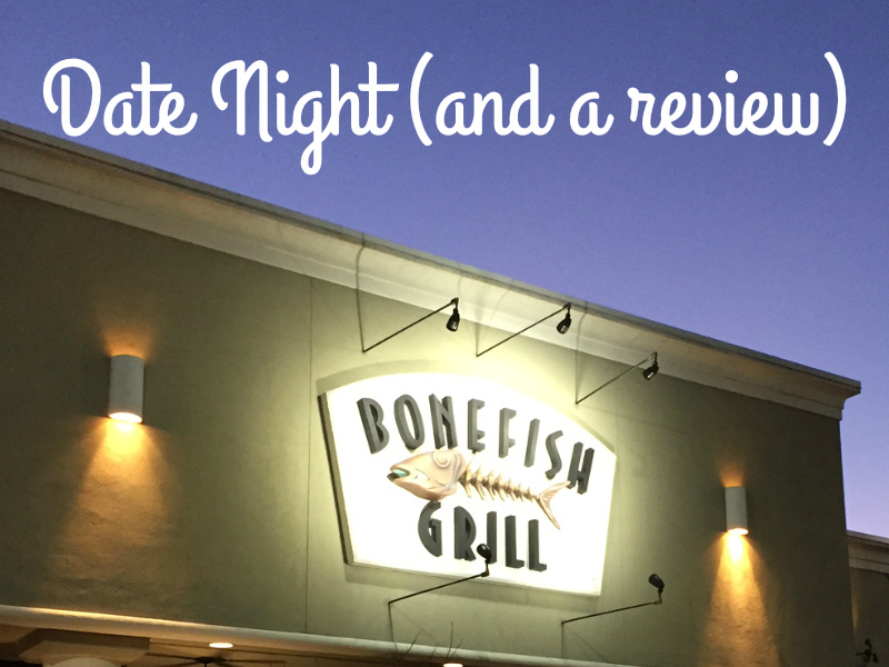 Date night out with Bonefish Grill (and a giveaway!) #ad