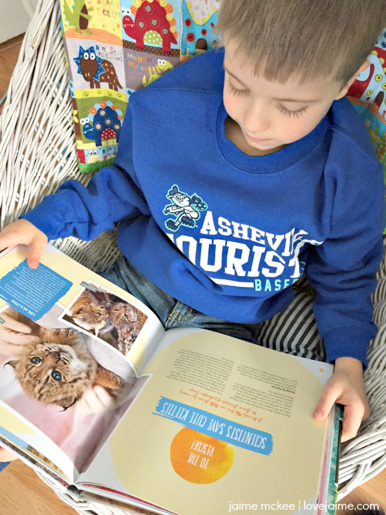 A look at National Geographic Kids books - great for gift