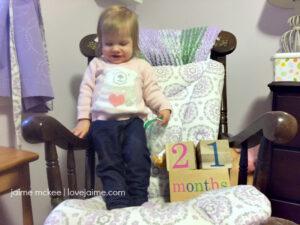 21 months {baby update}
