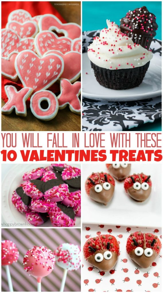 Valentine's Day can be such a fun day and Valentine's Day treats are great for celebrating. Check out these 10 treats for your next celebration! #ValentinesDay #treats #treatyoself