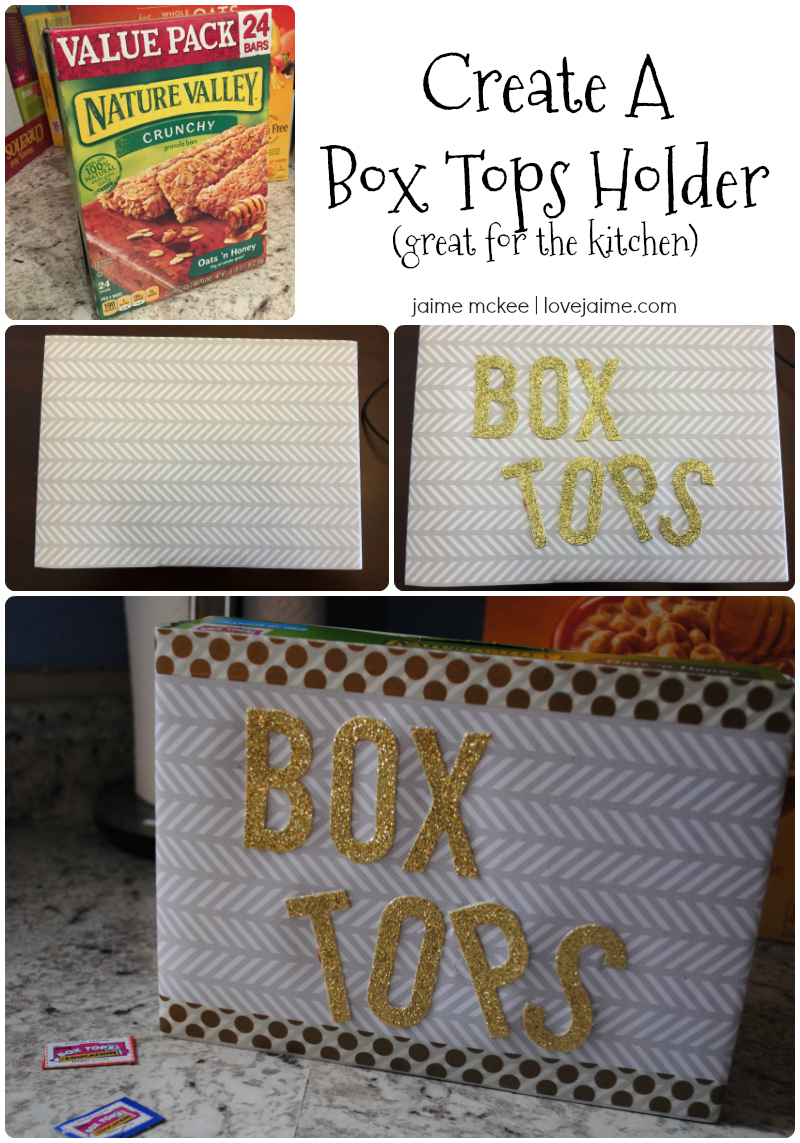 Earn more money for your child s school and organize those Box Tops