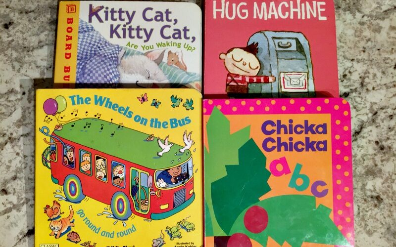 Favorite books for my (almost) 2-year-old