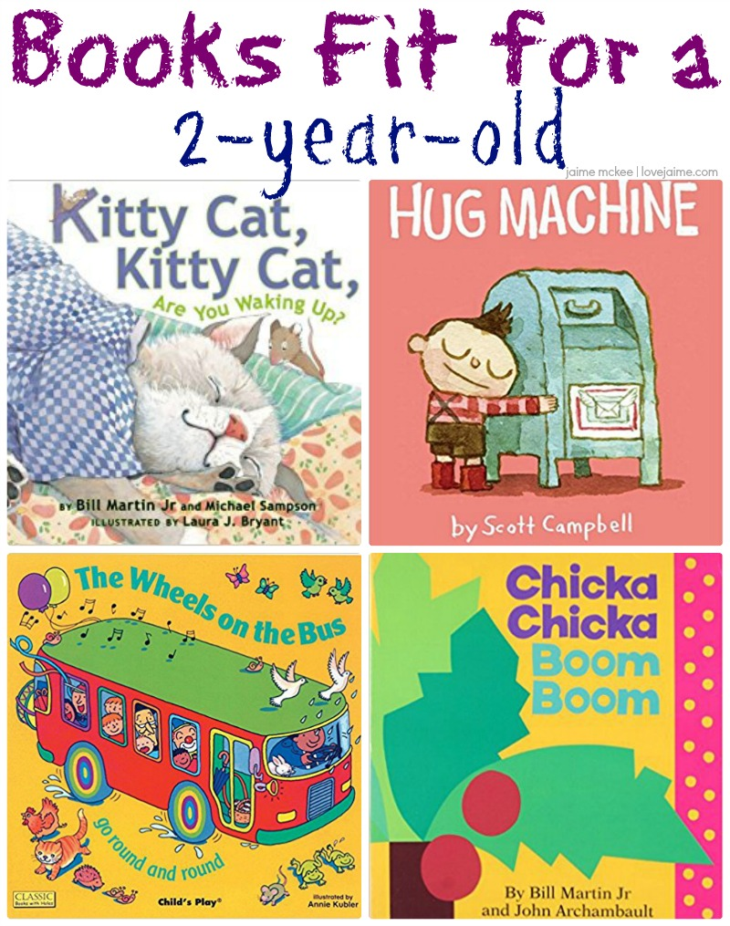 Favorite books for a two-year-old - ones that come recommended by an almost 2-year-old!