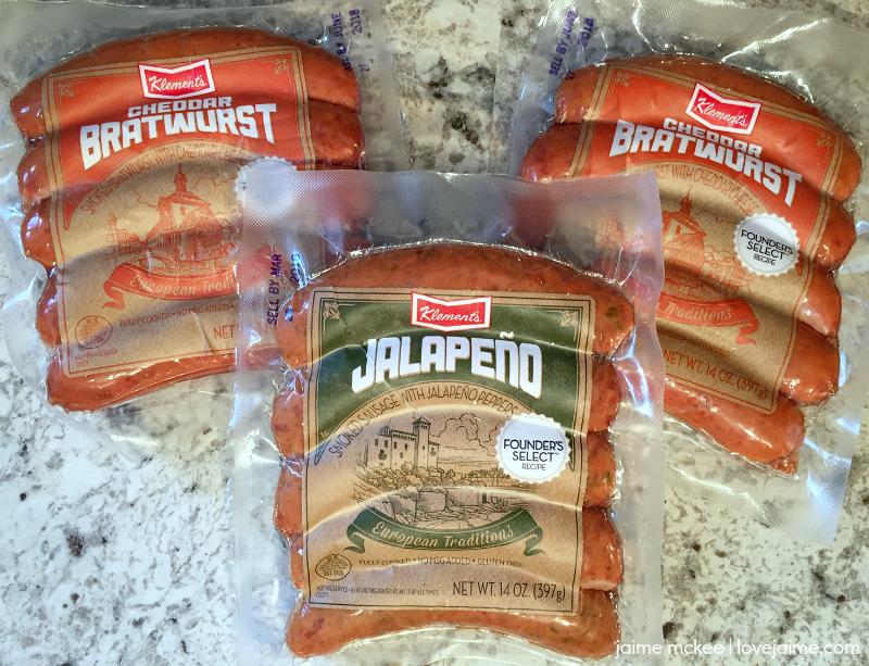 Klement's sausages