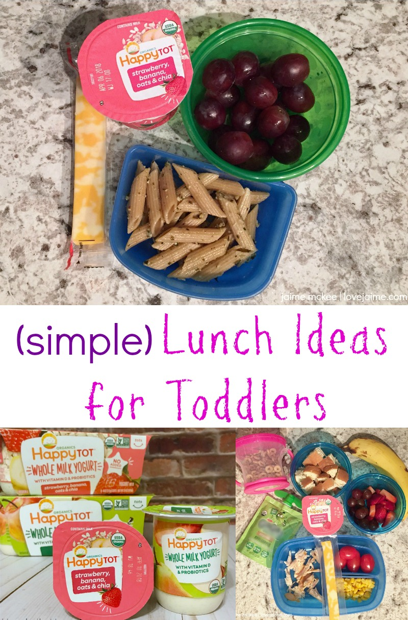 Easy lunches for toddlers