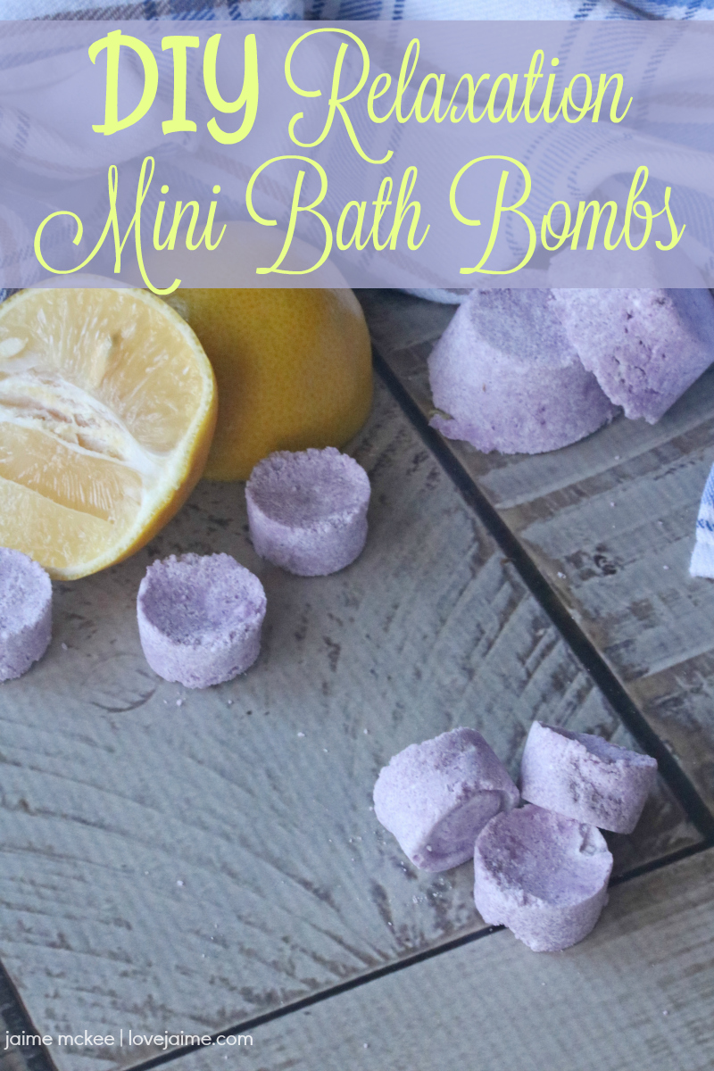 This Lemon Lavender Bath Bomb Recipe is simple to make, and great for gift giving (or pampering yourself.)