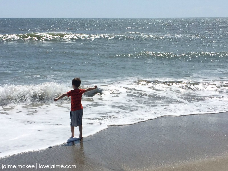 Kure Beach is one of what I consider the best beaches to visit on the coast of NC