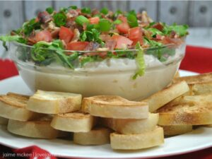 Easy BLT Dip Recipe – great for a weekend of entertaining!