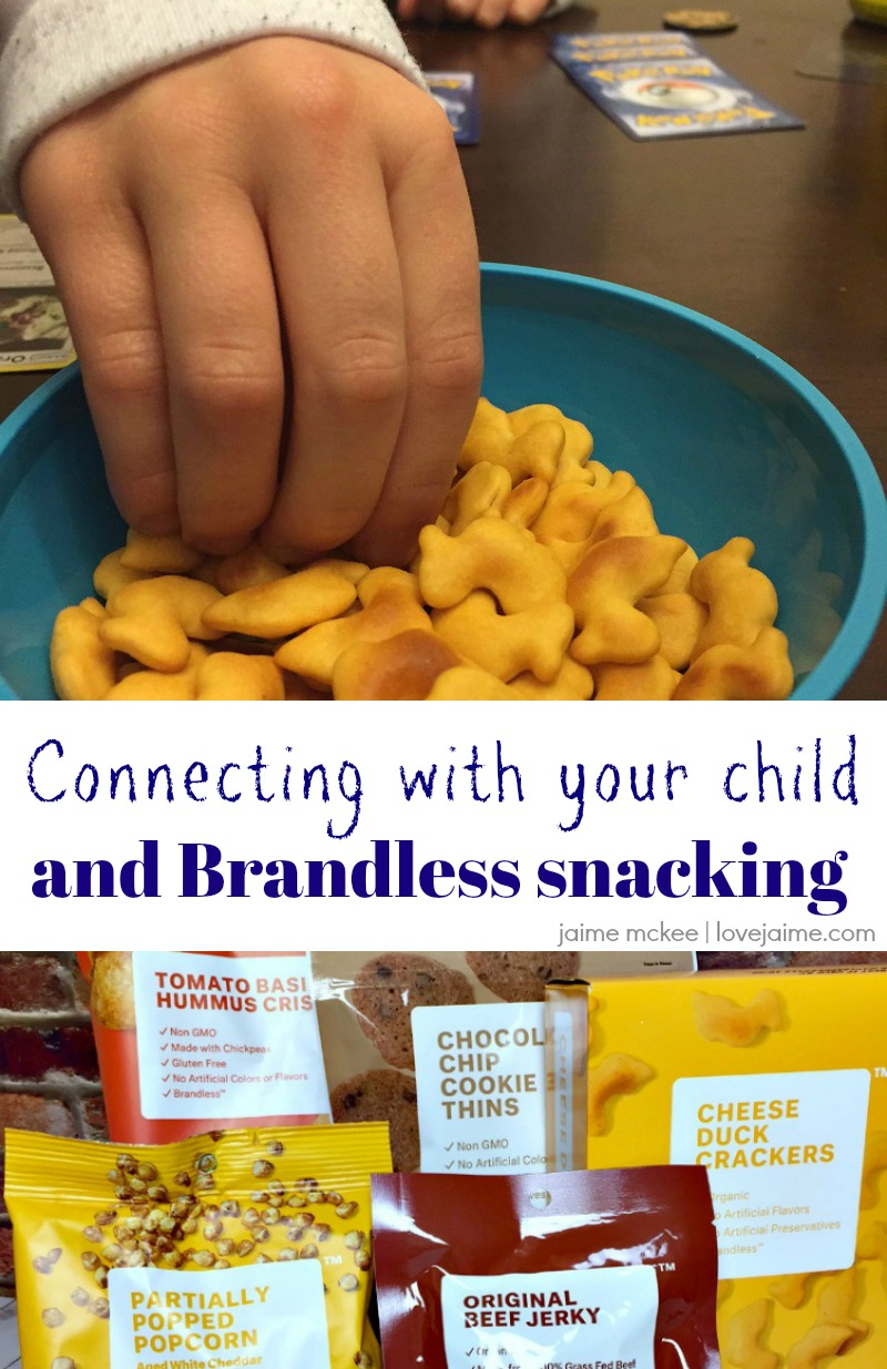 Reconnect with your child over Brandless snacks!