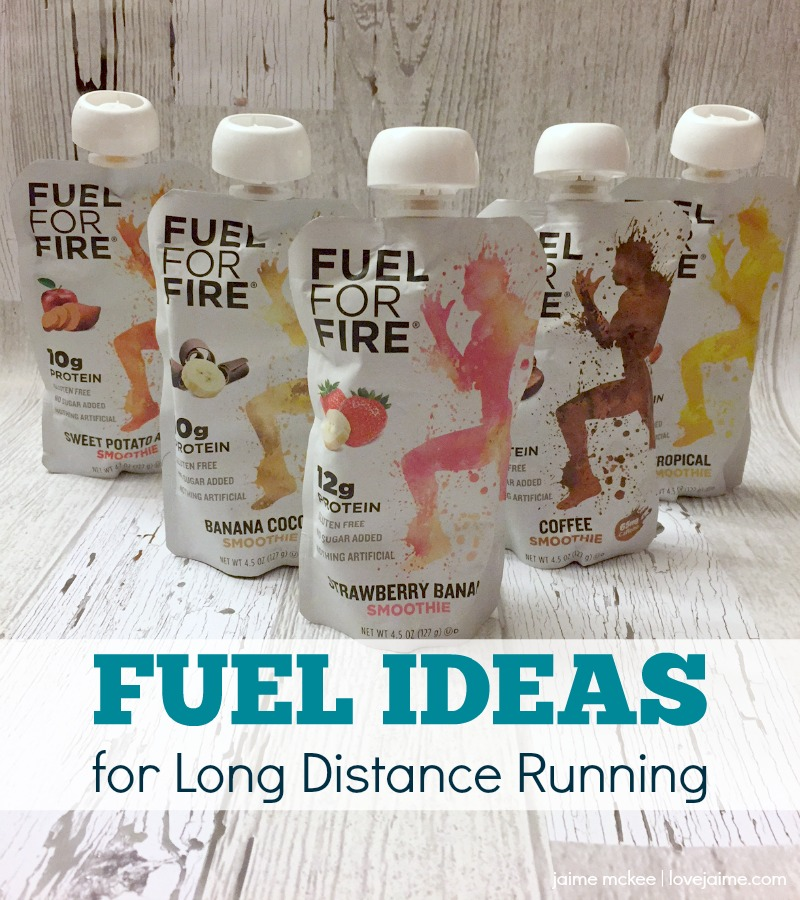 Fuel for Fire - fueling for long distance running