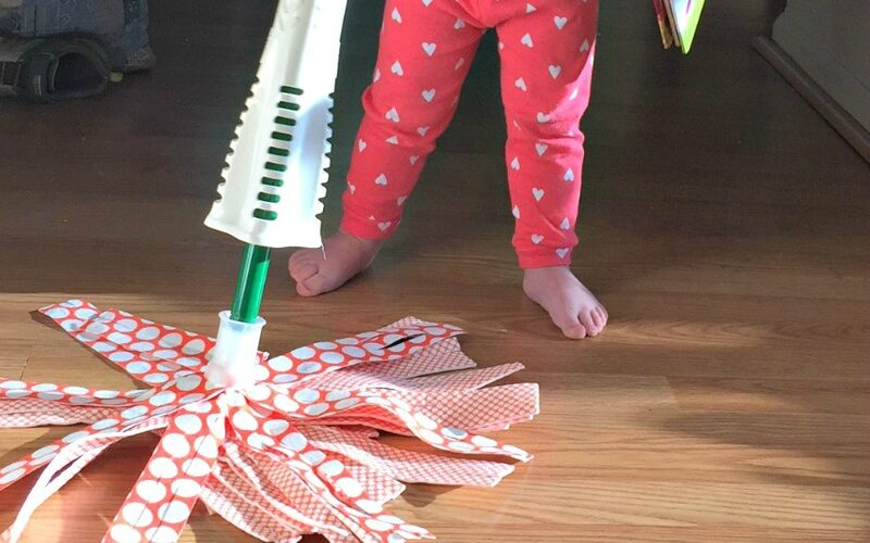 How to get your toddler to help with pet chores #CelebratePetsWithLibman #ad
