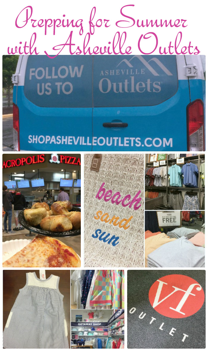 Get ready for summer with the Asheville Outlets! Visiting Asheville, NC? They have a free shuttle from area hotels!