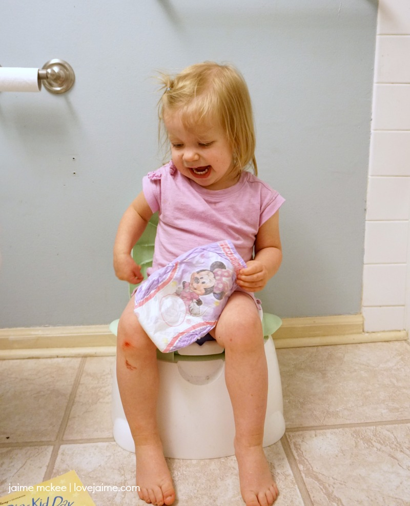 Tips to get your toddler (and you) through potty training