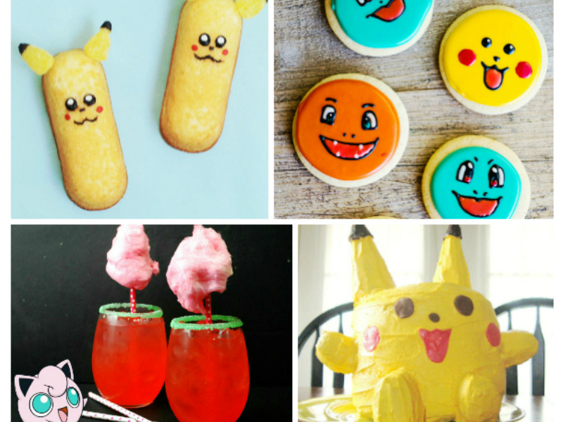 Pokemon foods that kids will love! (Perfect for a party or play date)