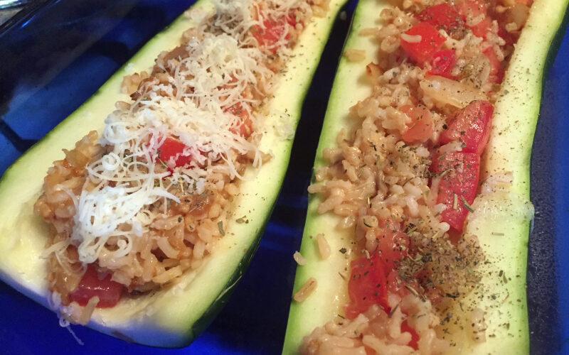 Menu Plan Monday – and a Stuffed Zucchini recipe!