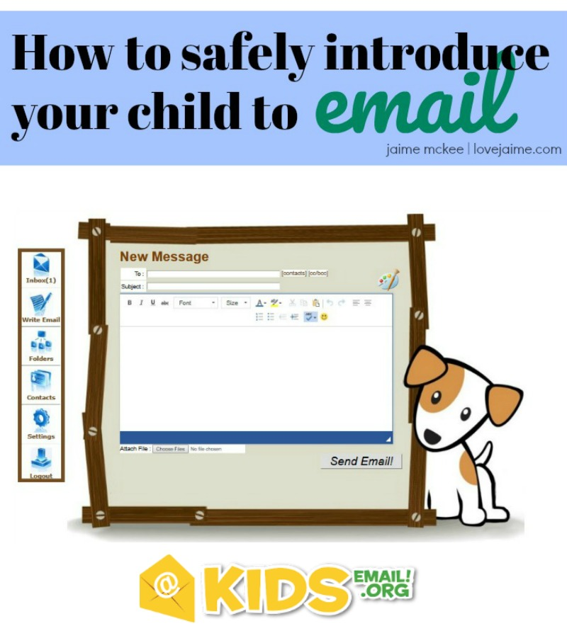 How to safely introduce your child to email - try KidsEmail for free!