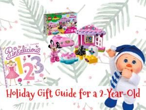 Gift Guide for a 2-year-old #DeliveringSmiles