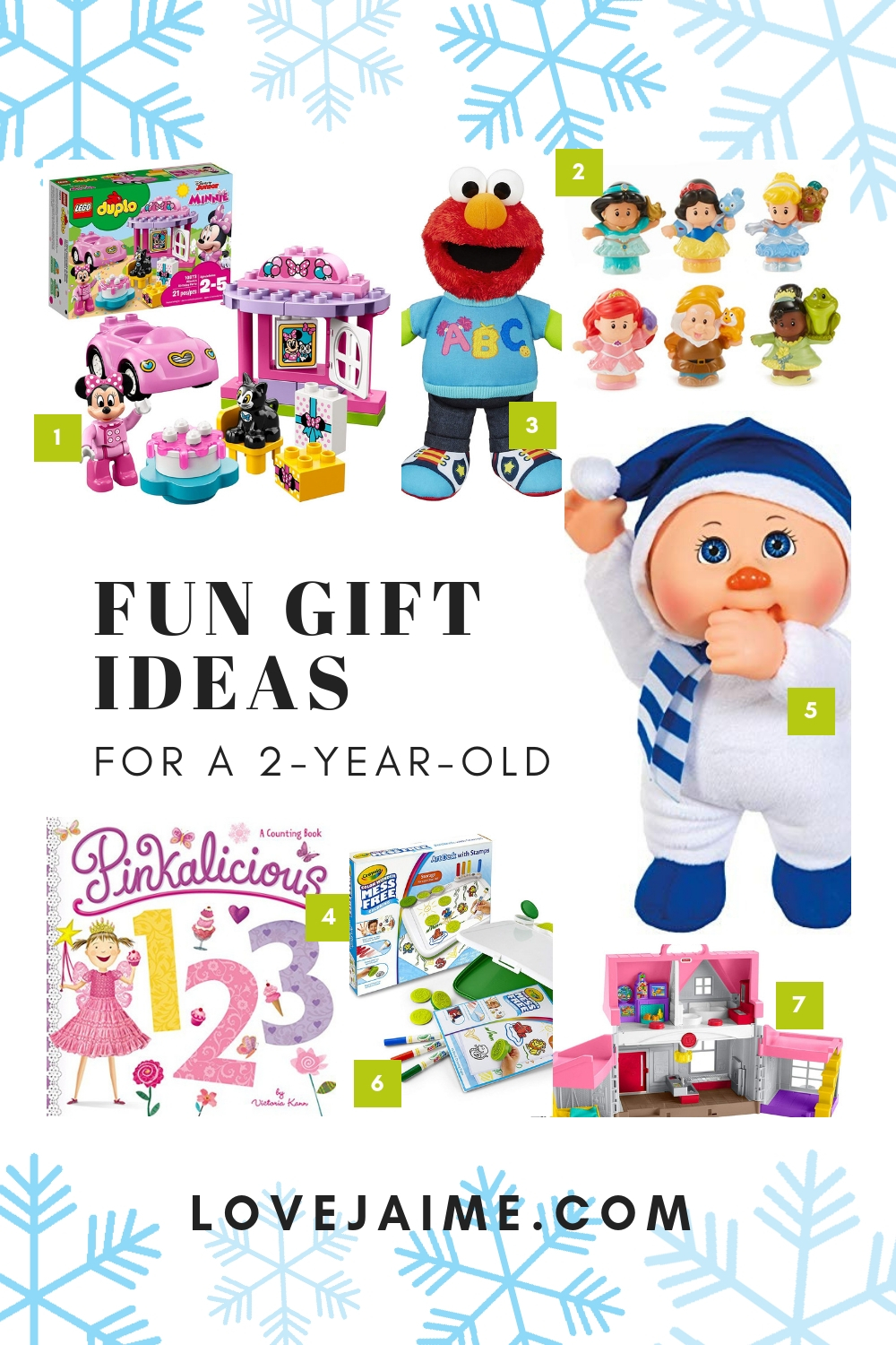 Holiday gift guide for a 2-year-old. Amazon is giving back to Toys for Tots, when you donate to the charity through Alexa. It's simple and doubles your donations. Check out this list of toys for ideas to get started on your donation! #ad #DeliveringSmiles #giftguide