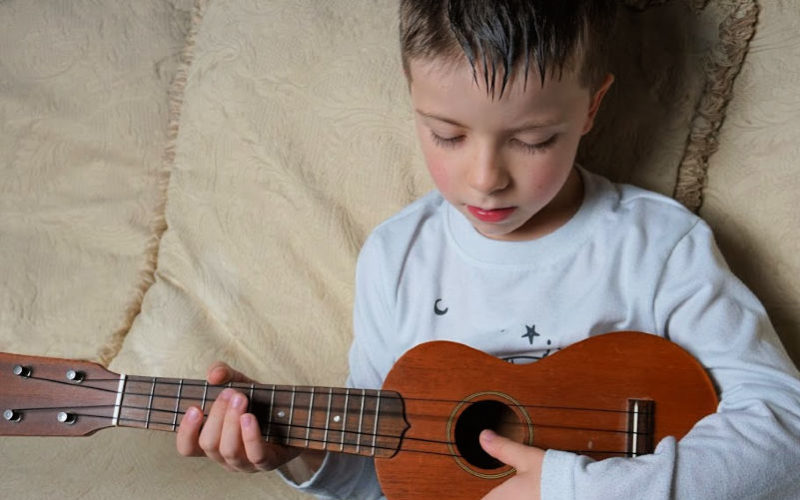 Learn to play an instrument at any age with Fender Play #FenderPlay #ad