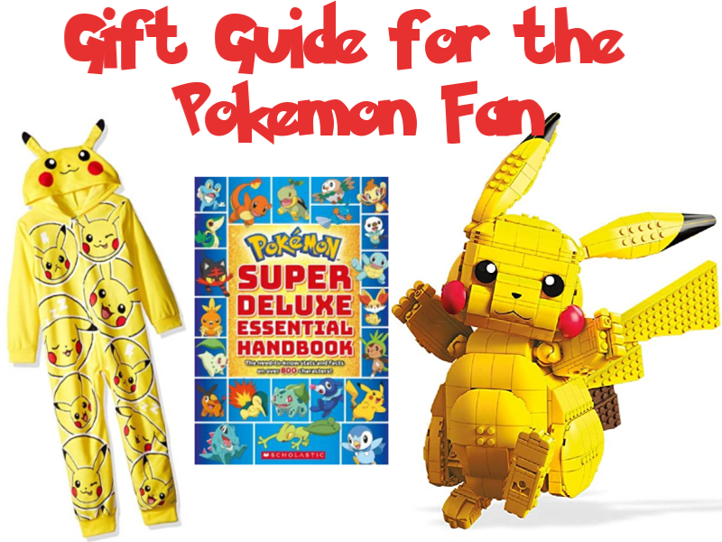The 4 Christmas Gift Challenge – for your Pokemon fan!