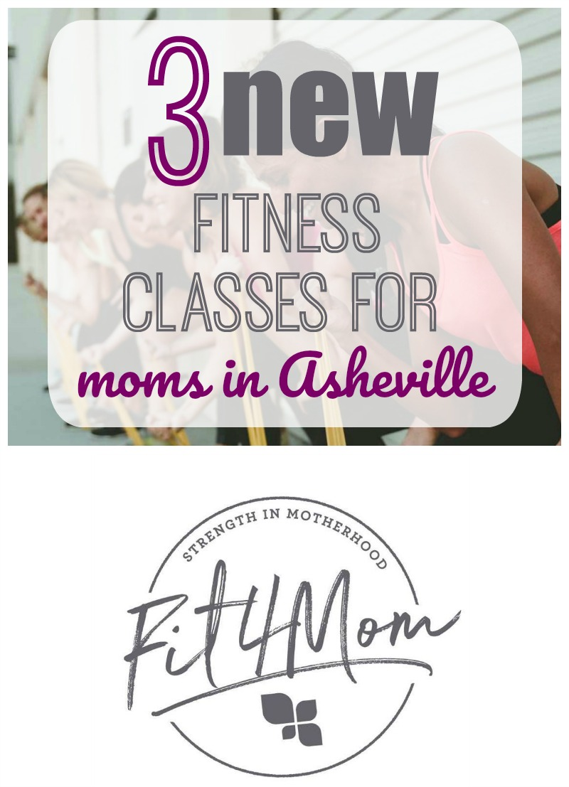 FIT4MOM Asheville opens in January 2019! FIT4MOM is bringing new fitness classes for moms in Asheville and will be expanding every month! #fitness #asheville #fitmom