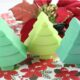This Christmas tree soap is so cute and simple to make!