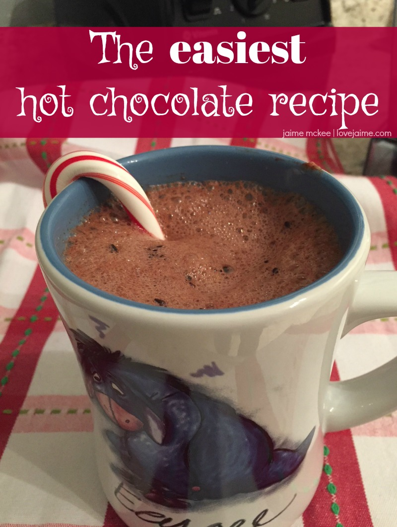 How to make the Perfect Hot Chocolate and whipped cream, thanks to Vitamix! #ad #momsmeet #recipes