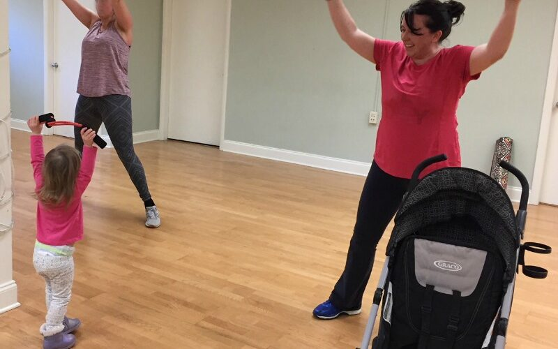 Stroller Strides in Asheville – and stroller exercises you should try