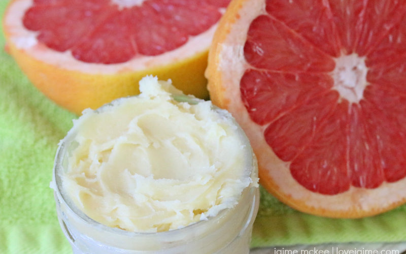 Natural Whipped Body Butter Recipe (with Honey and Grapefruit!)