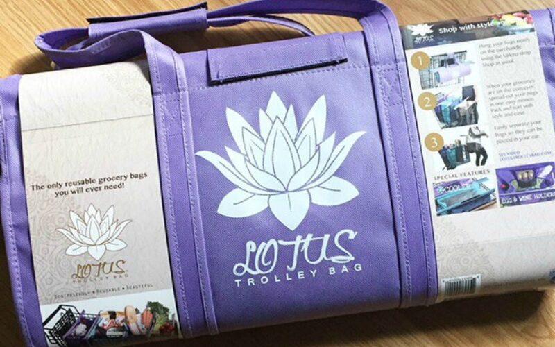 Review: Lotus Trolley Bag & Reusable Produce Bags