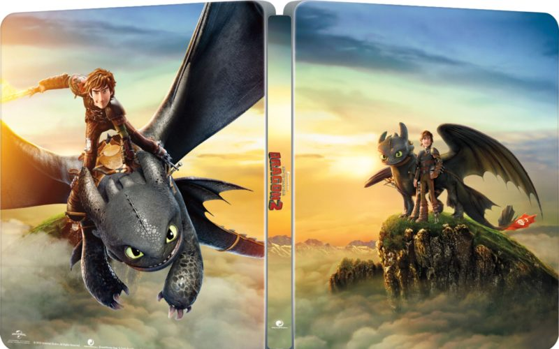 How to Train Your Dragon Collectible Steelbook – out now!