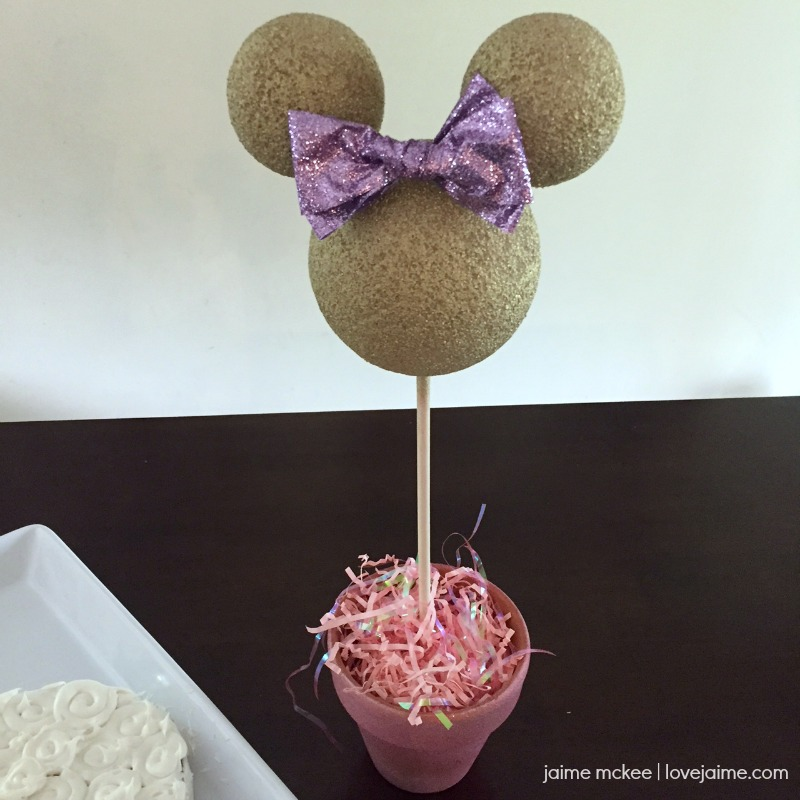 Minnie Mouse Party Centerpieces