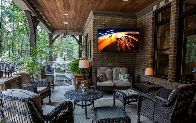 Dreaming of a new outdoor porch with SunBriteTV