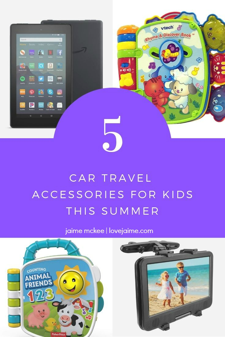 My top car travel accessories for kids