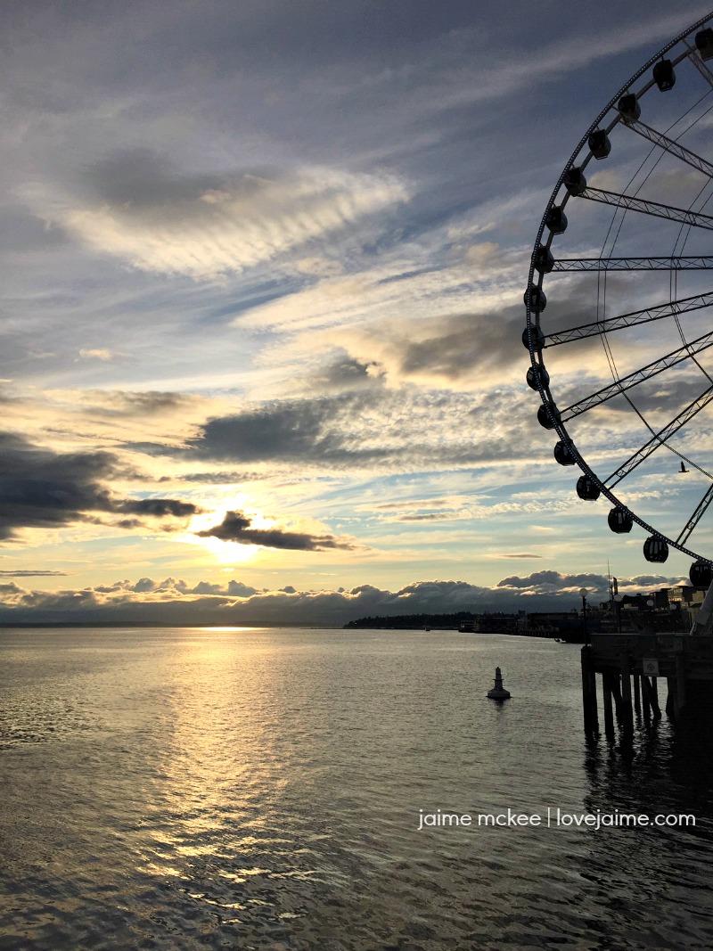 The Great Wheel in Seattle