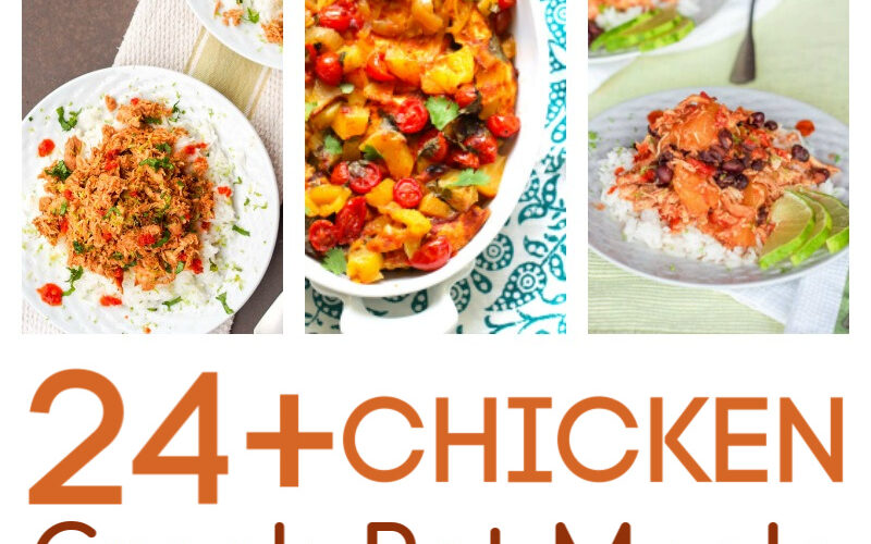 Two Dozen Crock-Pot Chicken Recipes to Try With Your Family