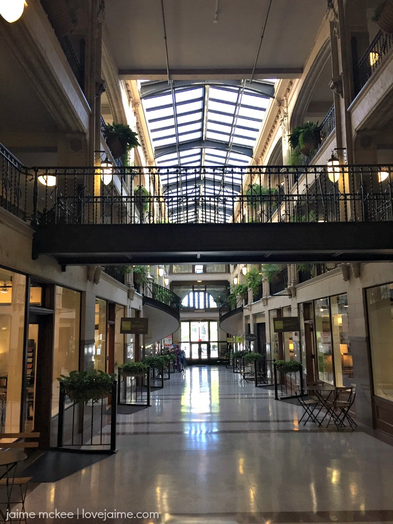 Date night at the Grove Arcade in Asheville, NC