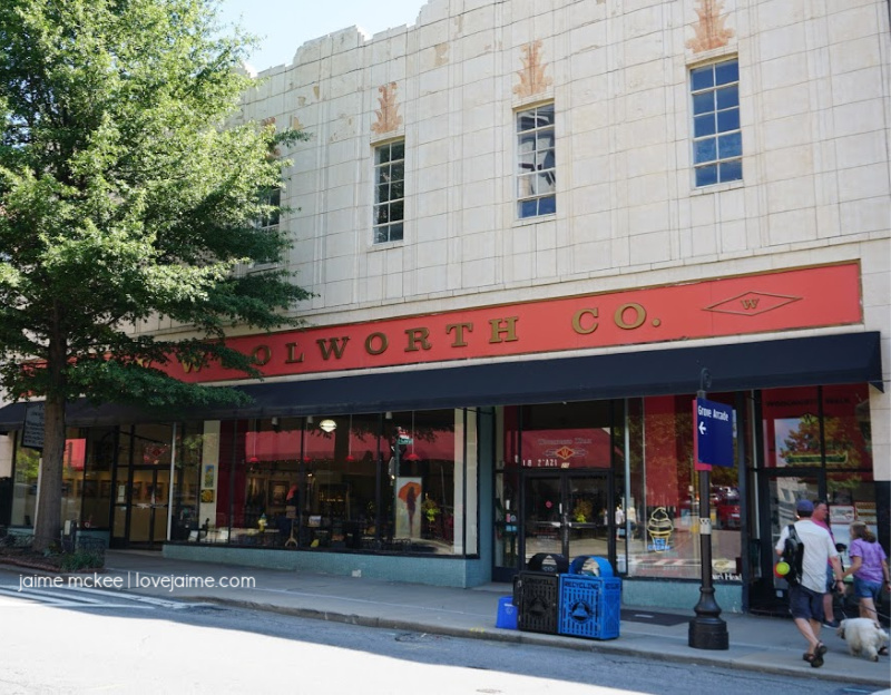 Woolworth Co. in Asheville