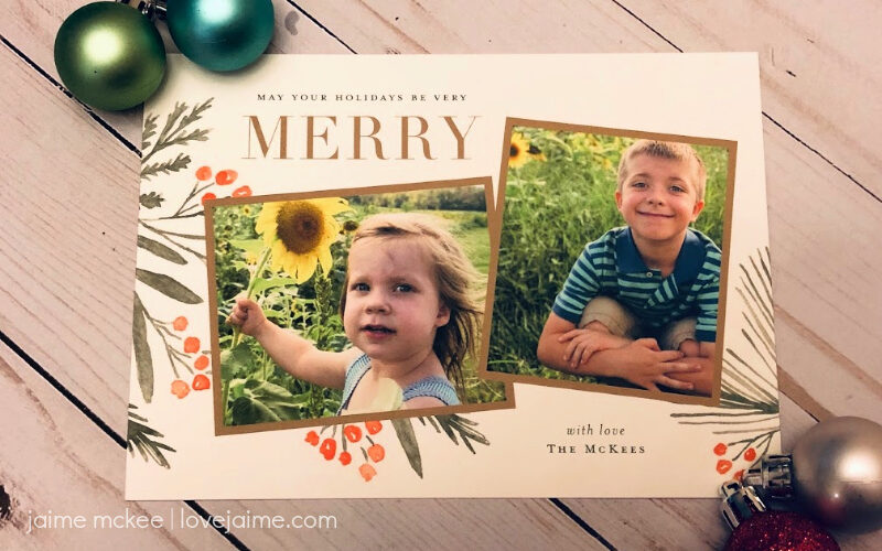 New holiday card designs from Minted!