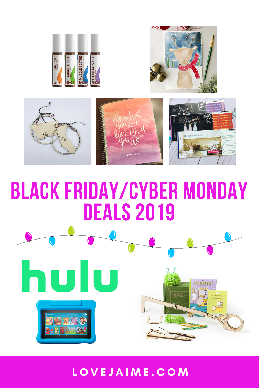 From 2020 planners to essential oils and even Hulu subscriptions, here is a rundown of my favorite Black Friday/Cyber Monday deals!