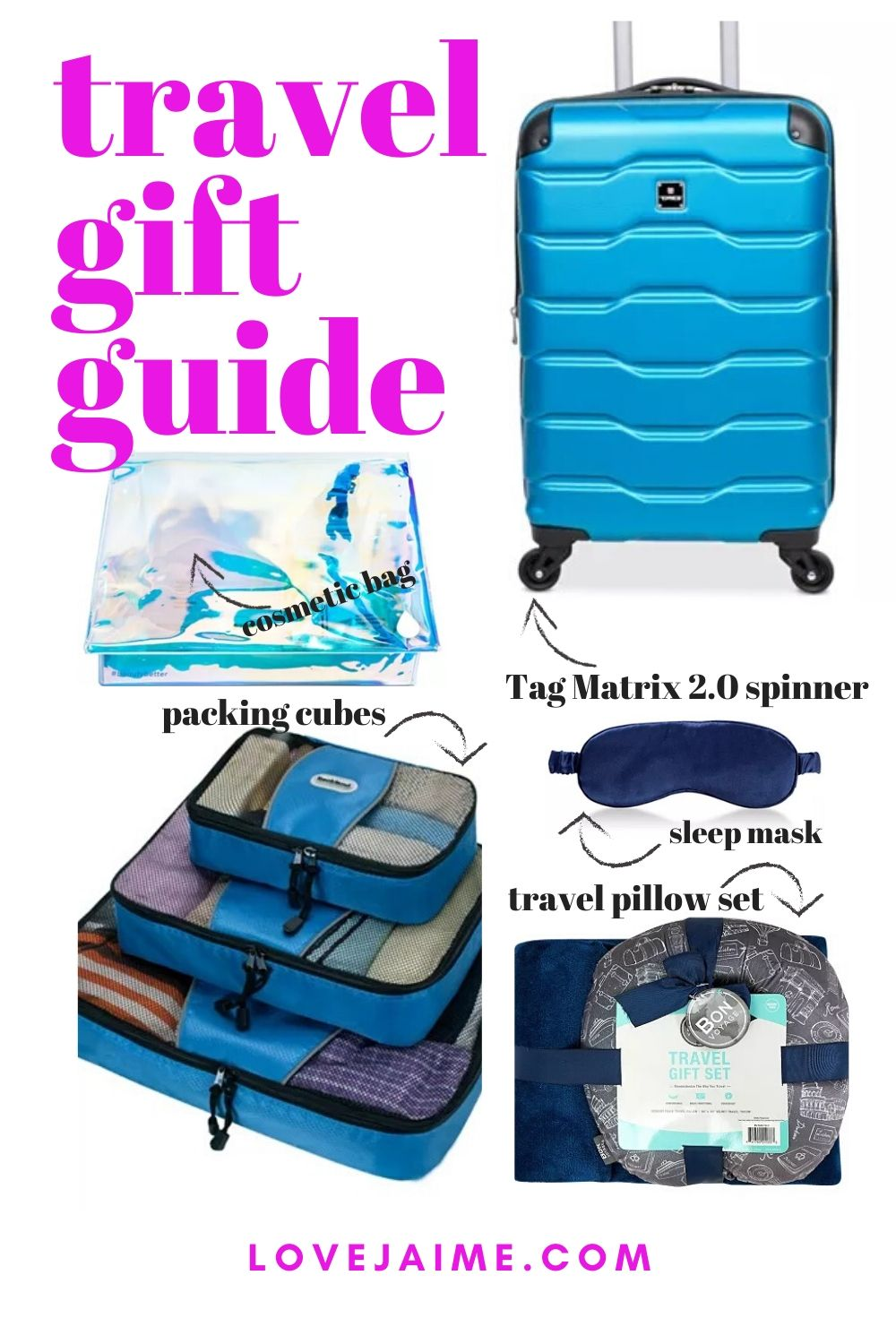 The Black Friday sales have started at Macy's, and one of the best deals this season is the Tag Matrix 2.0 Spinners! Check out these five items perfect for any traveler on your list this season. #travel #giftguide #gifts #deals #TravelWithMacys #ad
