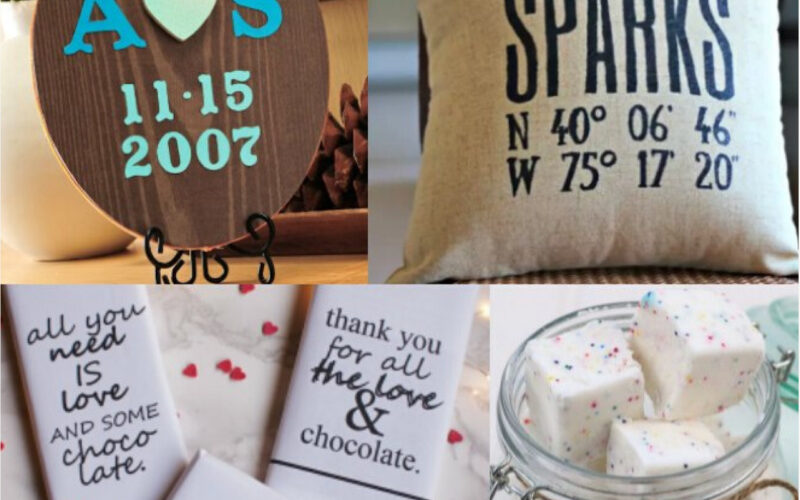 Handmade Valentine's Day Gifts (more than 20 ideas!)