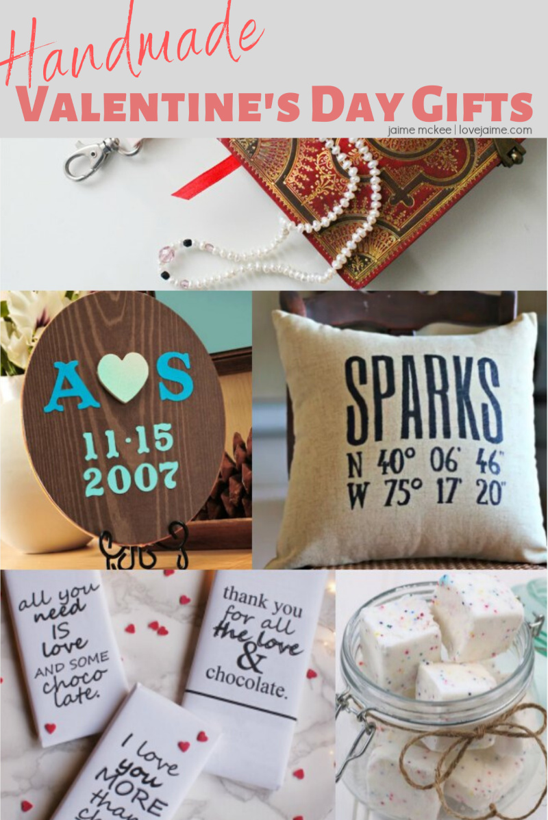 More than 20 Handmade Valentine's Day gifts #ValentinesDay #crafts #gifts #handmade