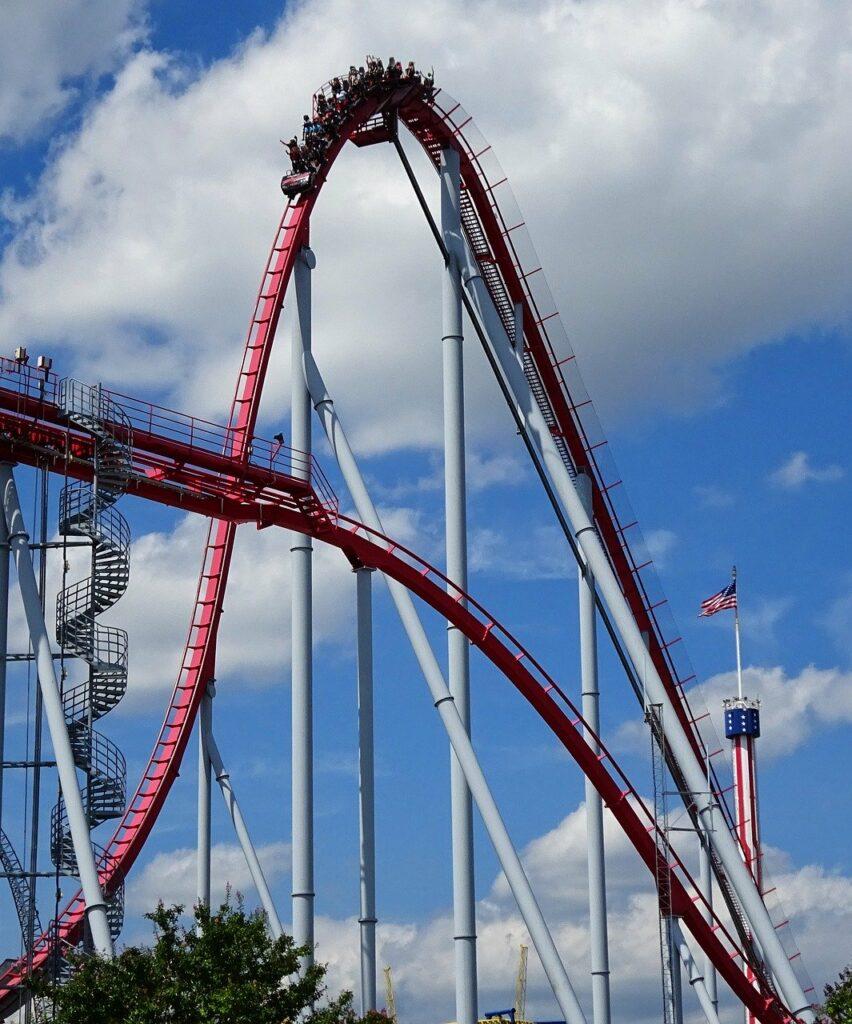 Carowinds rollercoaster