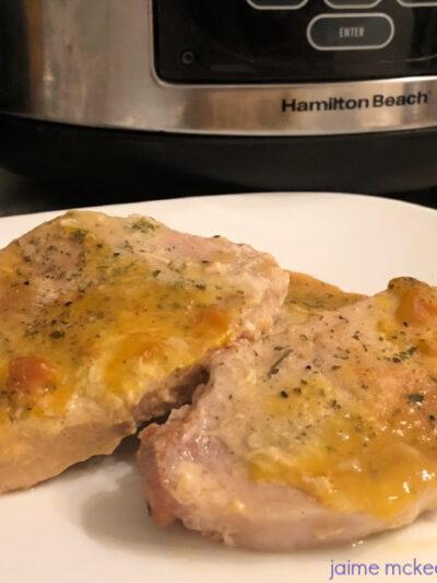 Ranch Pork Chops in Crock-Pot Recipe #slowcooker #dinner #crockpot #recipe