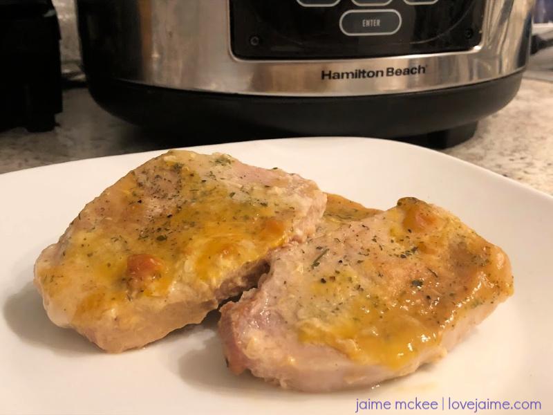 Pork Chops in the Crock-Pot Recipe #slowcooker #dinner #crockpot #recipe