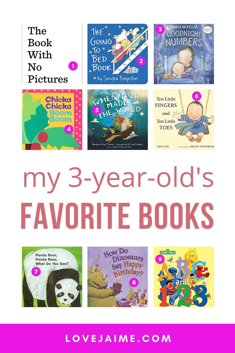 My 3-year-old's favorite books! We read at least 3 or 4 books each night, and these are in a constant rotation. And right now, you can get massive deals on some of them.