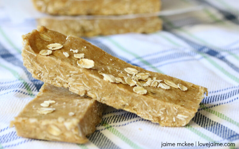 Peanut Butter Vanilla Protein Bars Recipe