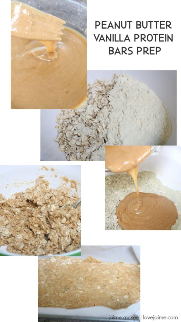 How to Make Peanut Butter Vanilla Protein Bars